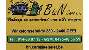B&N Cars sponsor KFCV Alberta