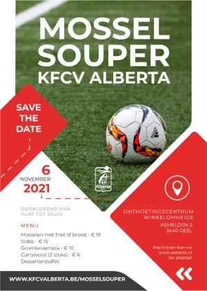 Mosselsouper KFCV Alberta 2021